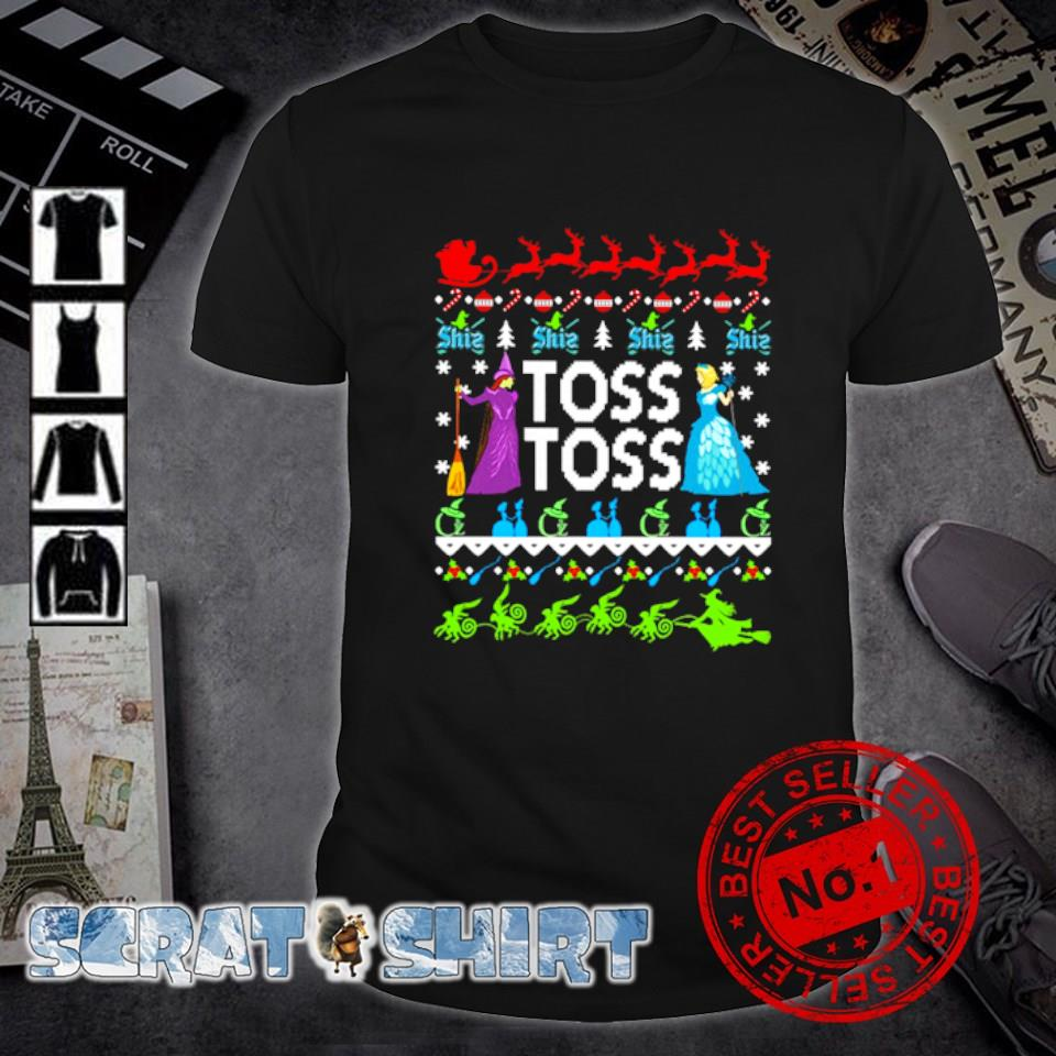 Princess Witch Toss Toss Christmas shirt