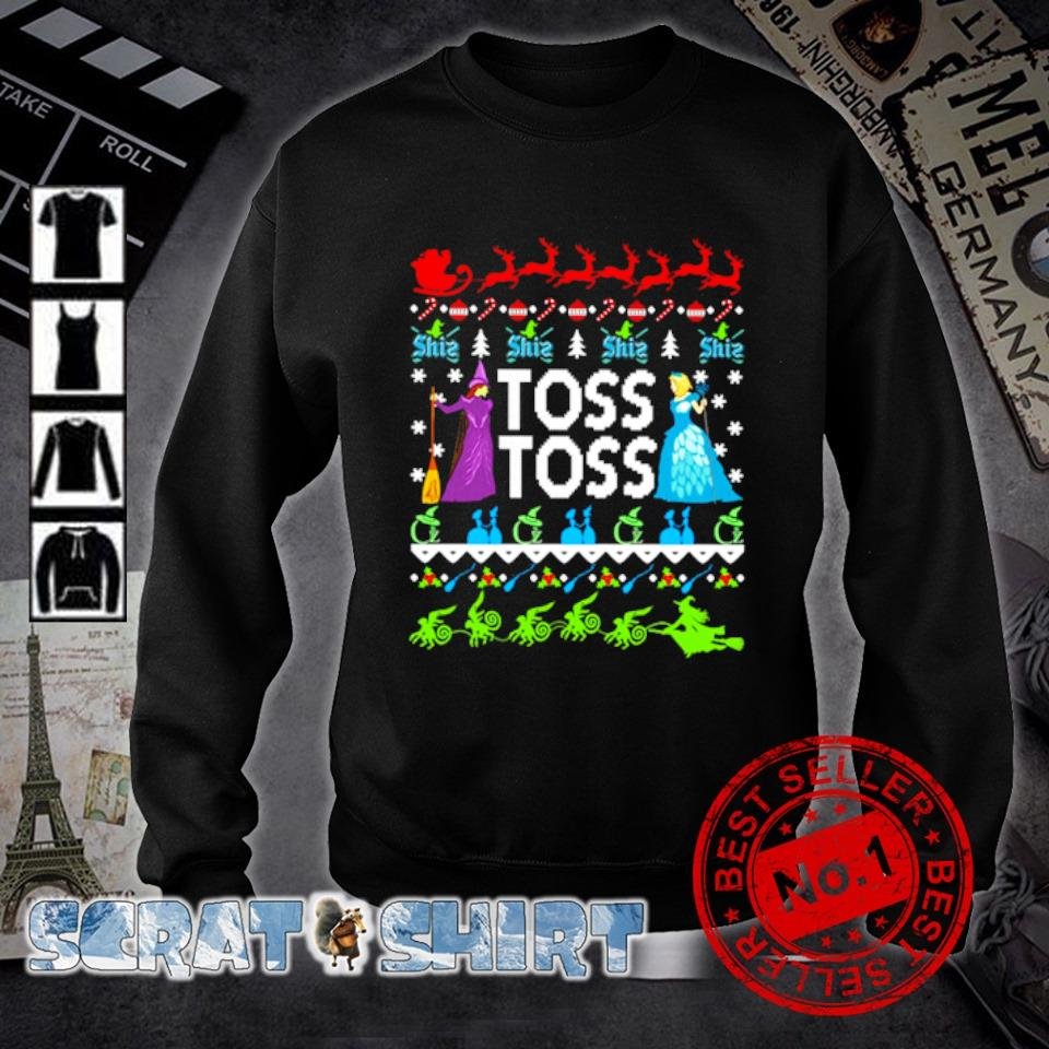 Princess Witch Toss Toss Christmas s sweater