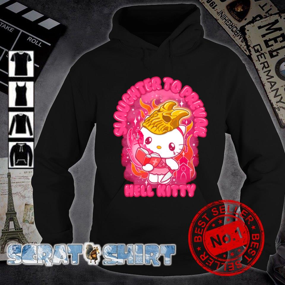 Slaughter to prevail hell Kitty s hoodie