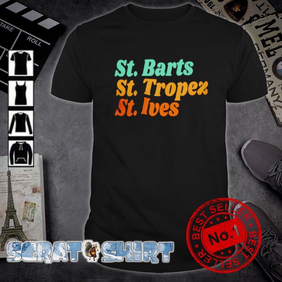 St Barts St Tropez St Ives shirt