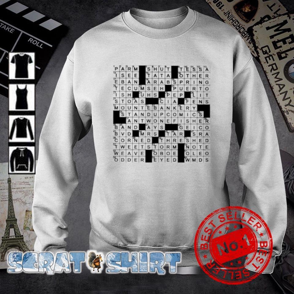 Stuffed crossword clue s sweater