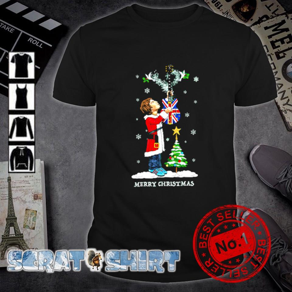 The Beatles Merry Christmas shirt