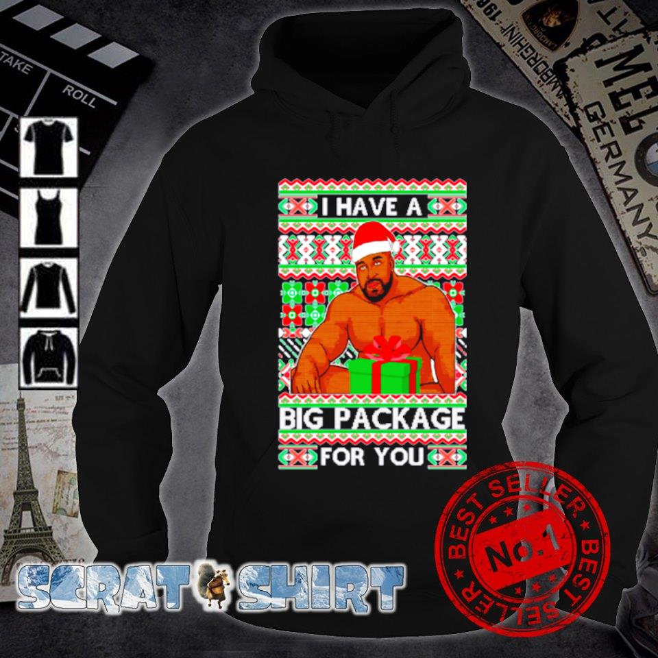Barry Wood I have a big package for you ugly Christmas s hoodie
