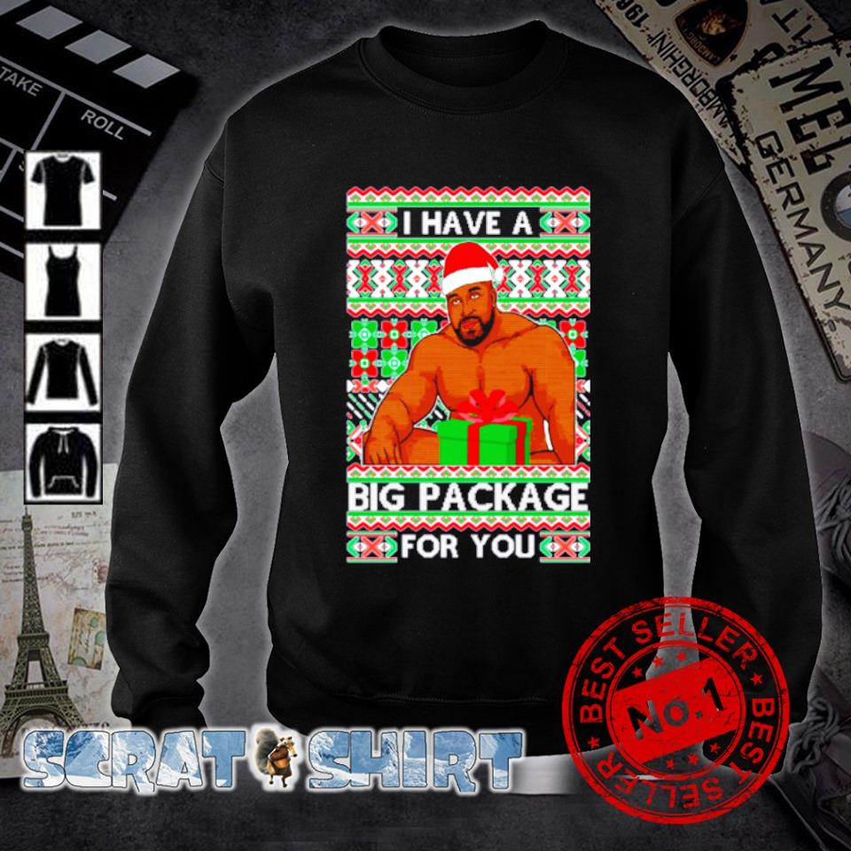 Barry Wood I have a big package for you ugly Christmas s sweater