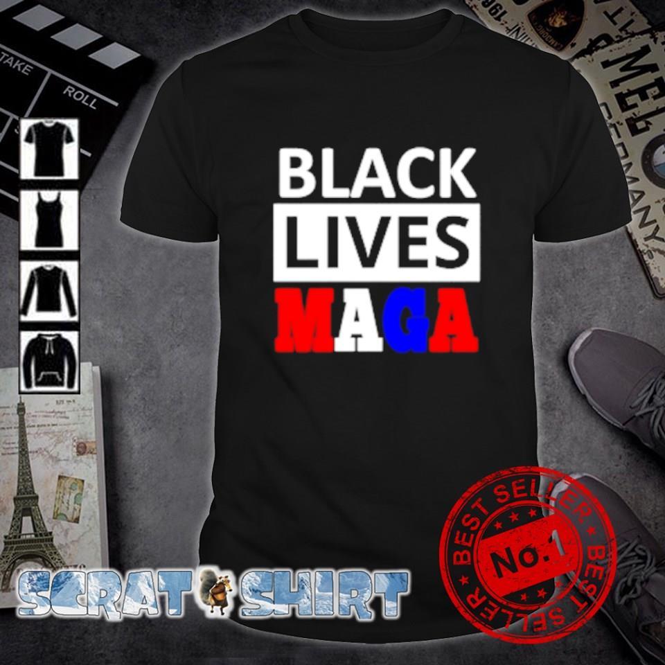Black lives Maga shirt