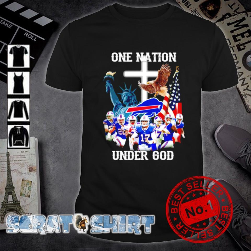 Buffalo Bills one nation under God shirt