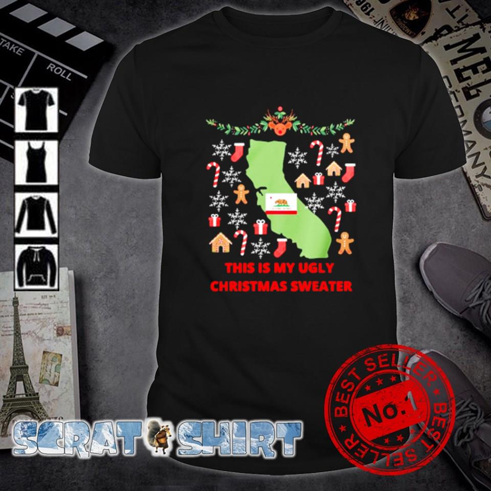 California this is my ugly Christmas sweater