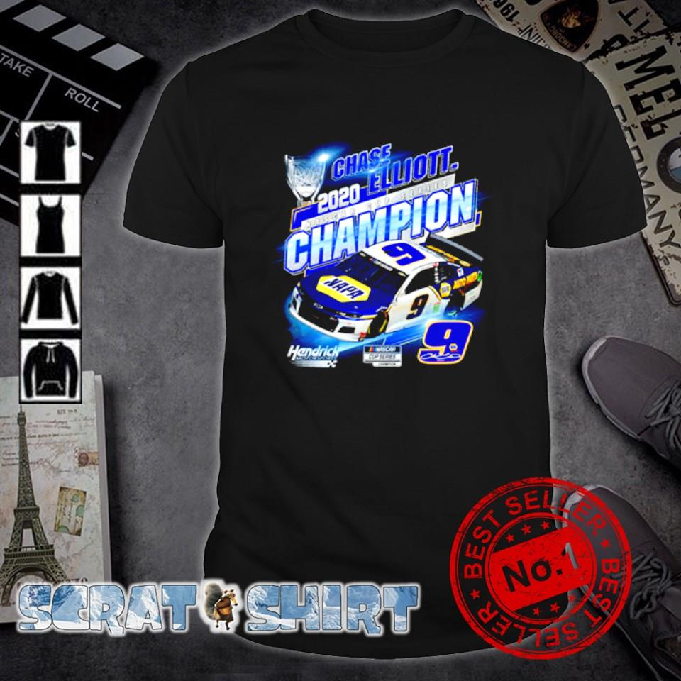 Chase Elliott 2020 nascar cup series champion shirt