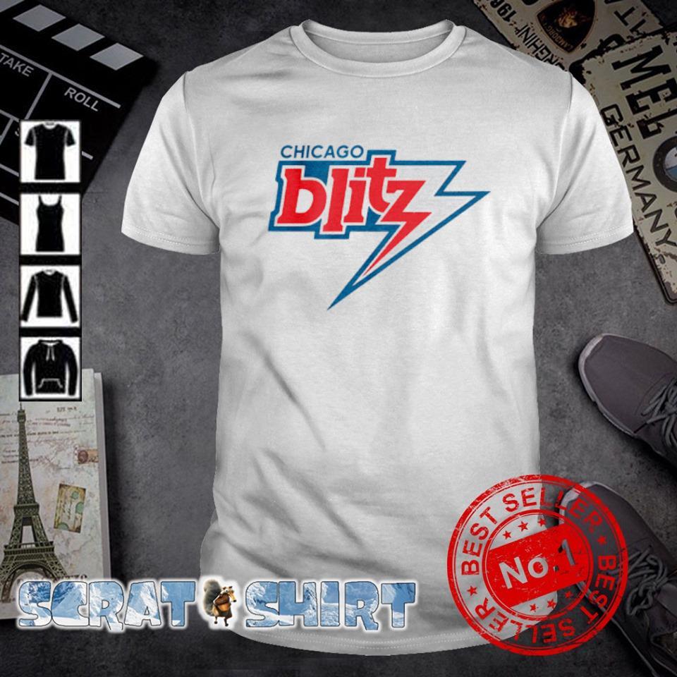 Chicago Blitz football shirt