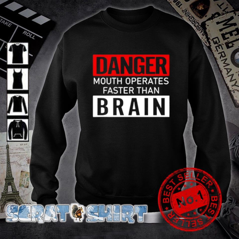 Danger mouth operates faster than brain s sweater