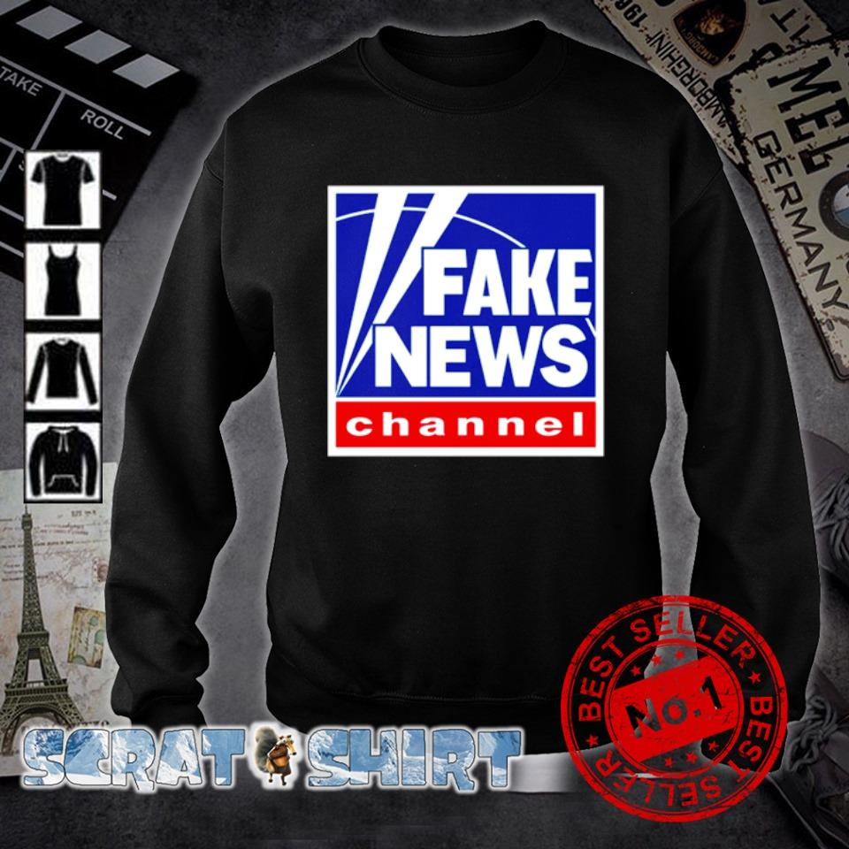 Fake news channel s sweater