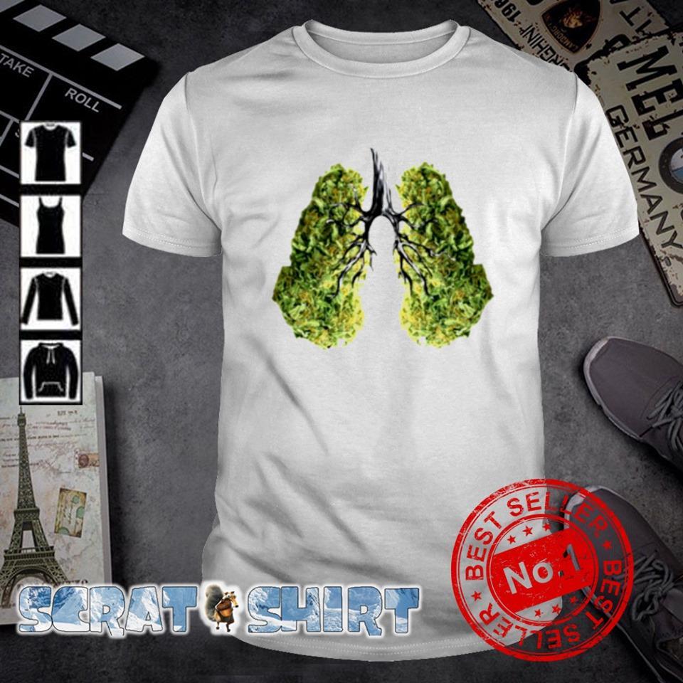 Green lungs shirt