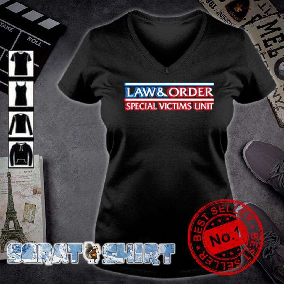 Law and order special victims unit s v-neck t-shirt