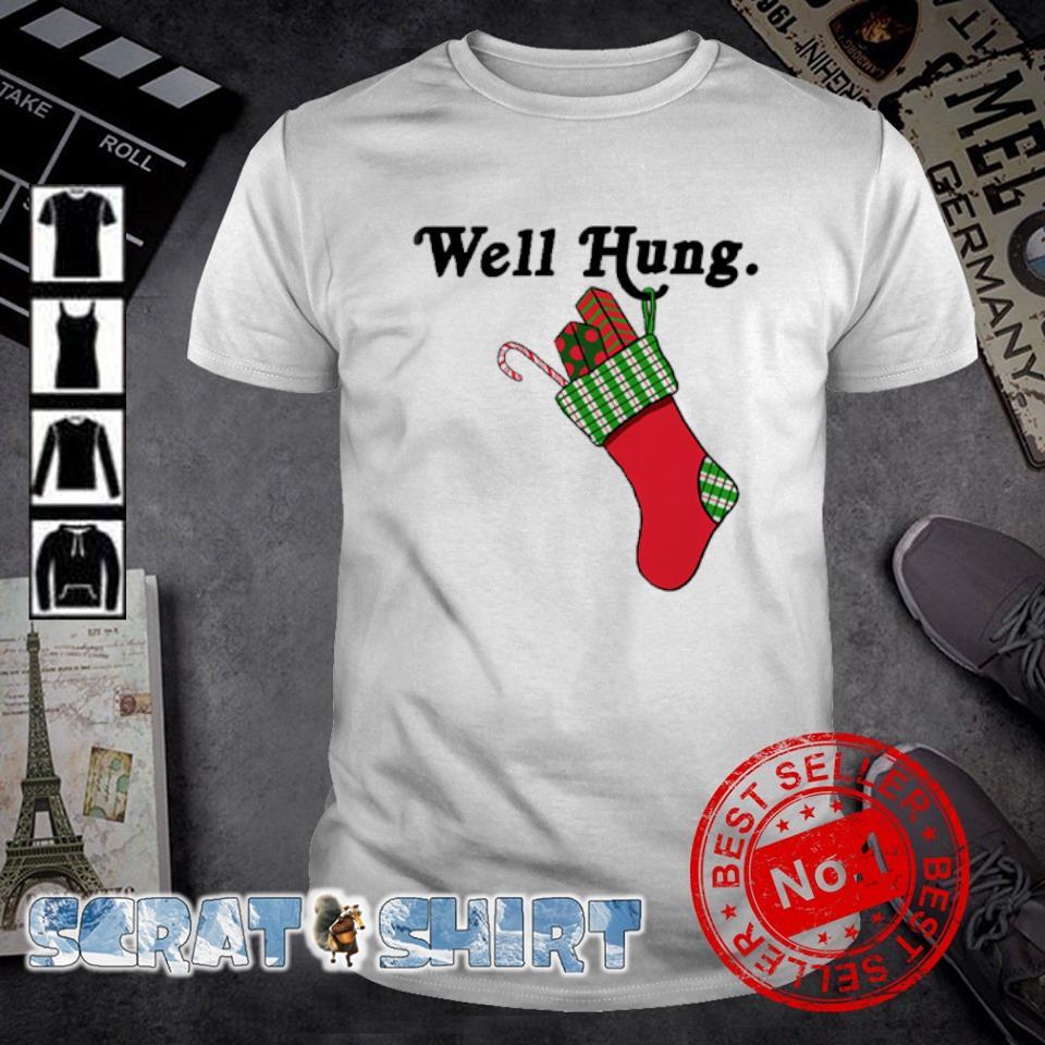 Sock gift Christmas well hung shirt