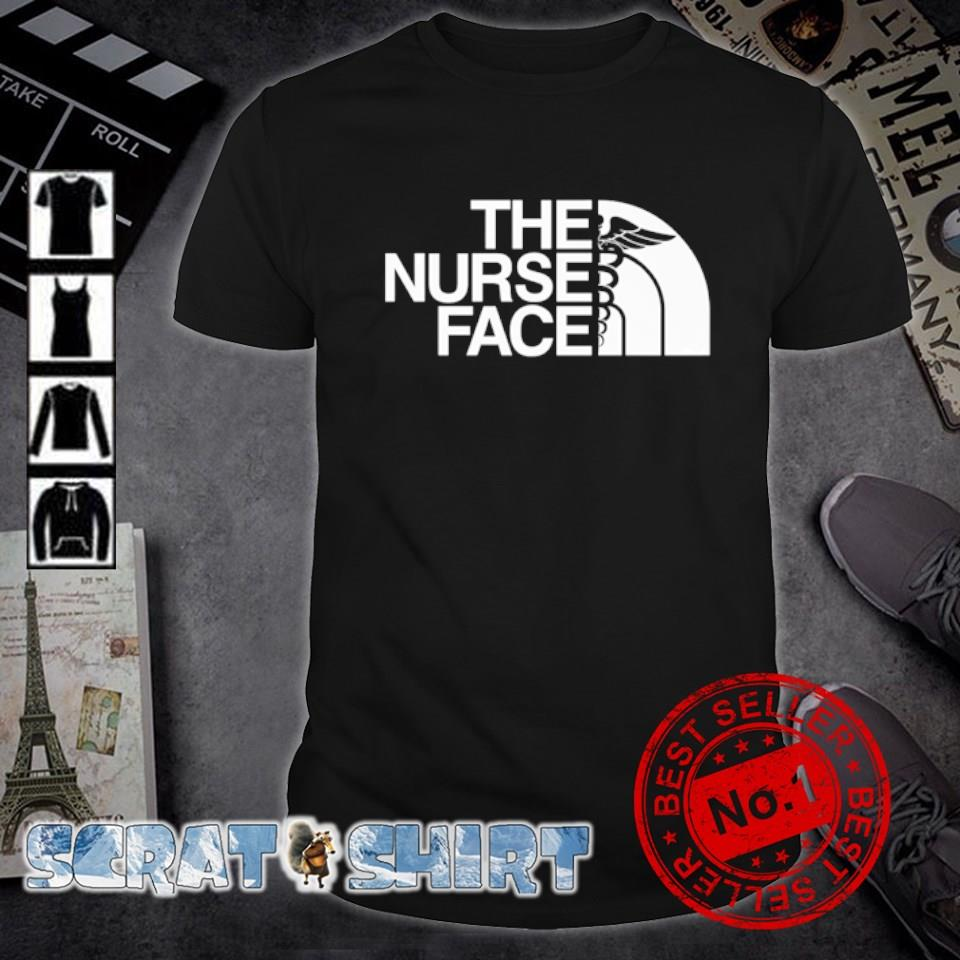 The North Face nurse the nurse face shirt