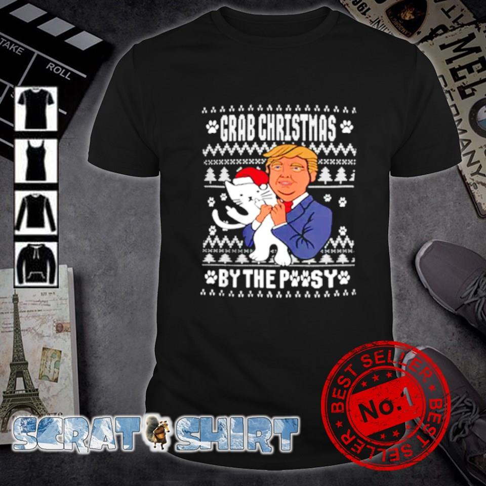 Trump grab Christmas by the pussy shirt