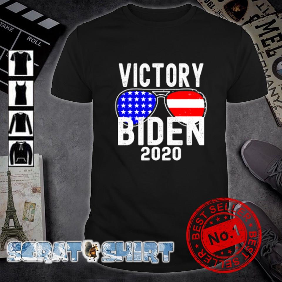 Victory Biden 2020 American flag shirt
