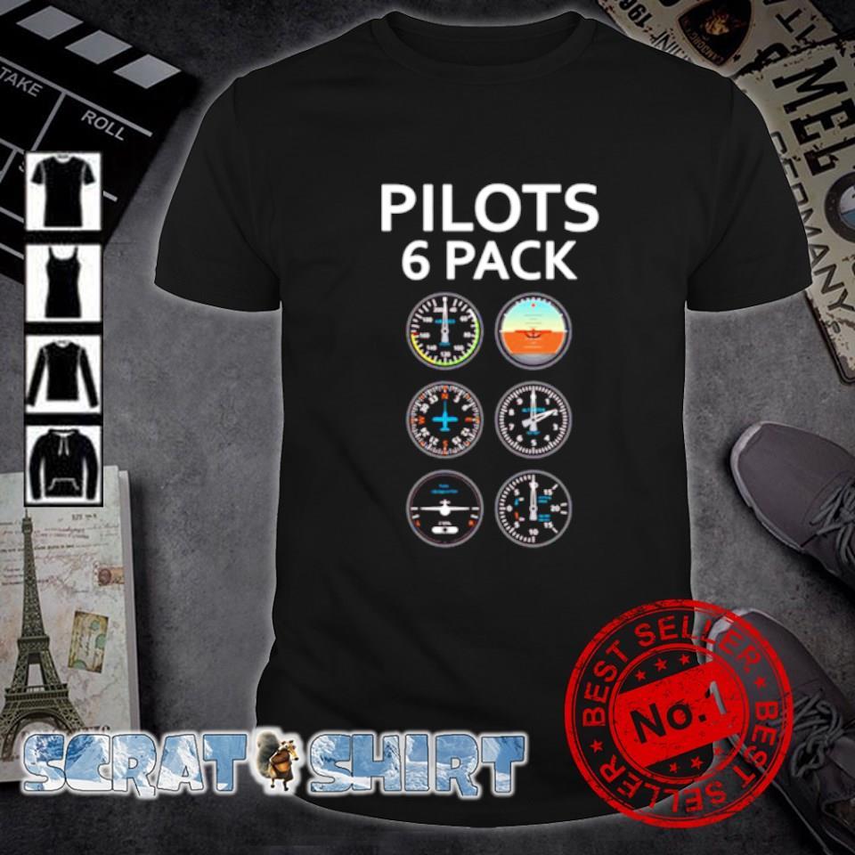 Aviation Pilots 6 pack shirt