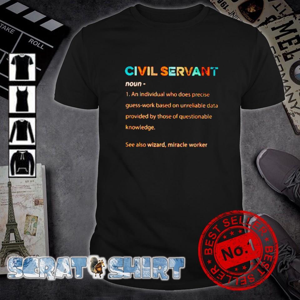 Civil Servant definition meaning shirt