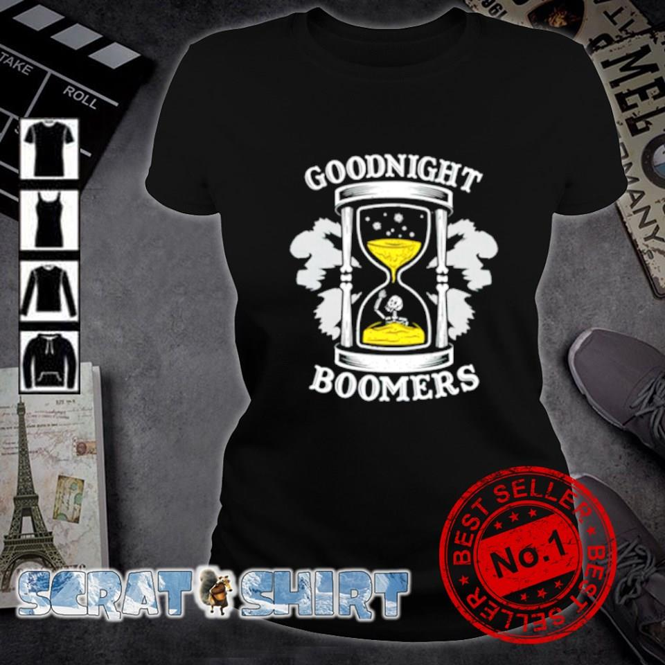 Goodnight boomers s ladies-tee
