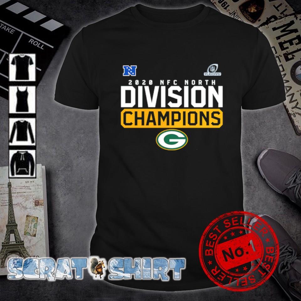Green Bay Packer 2020 NFC north division champions shirt