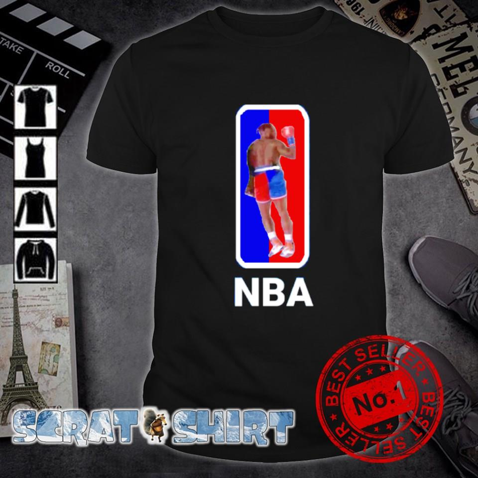Nate Robinson Boxing knockout NBA logo shirt