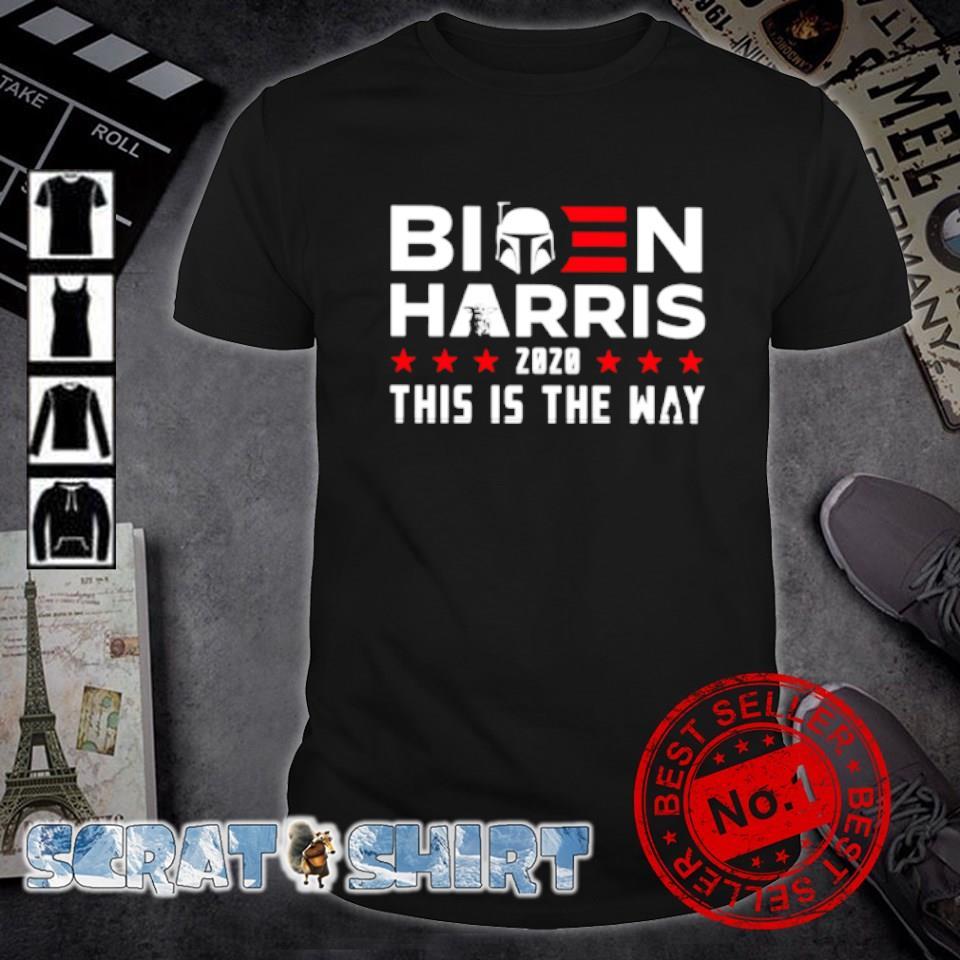 Star Wars Biden Harris 2020 this is the way shirt