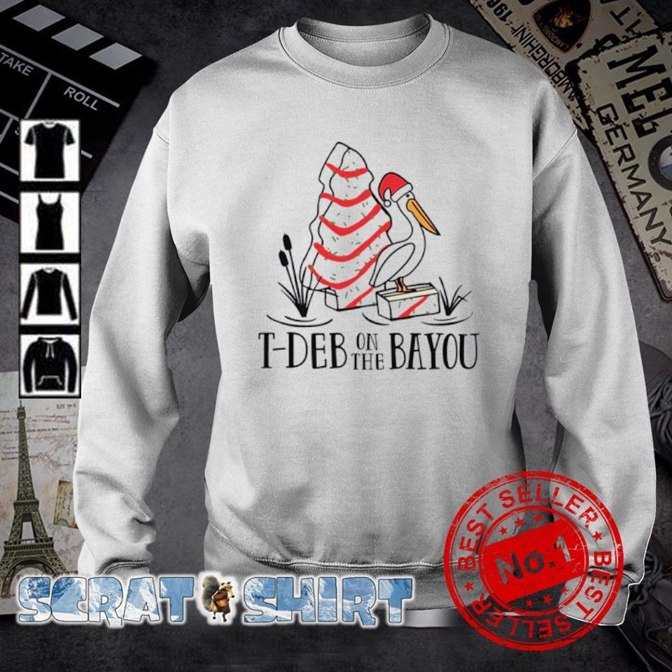 Stork Cake T-deb on the bayou s sweater