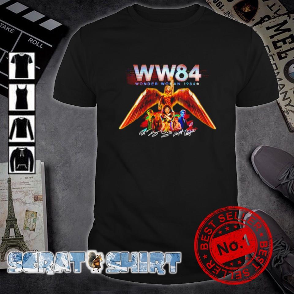 Wonder Woman 1984 characters signature shirt