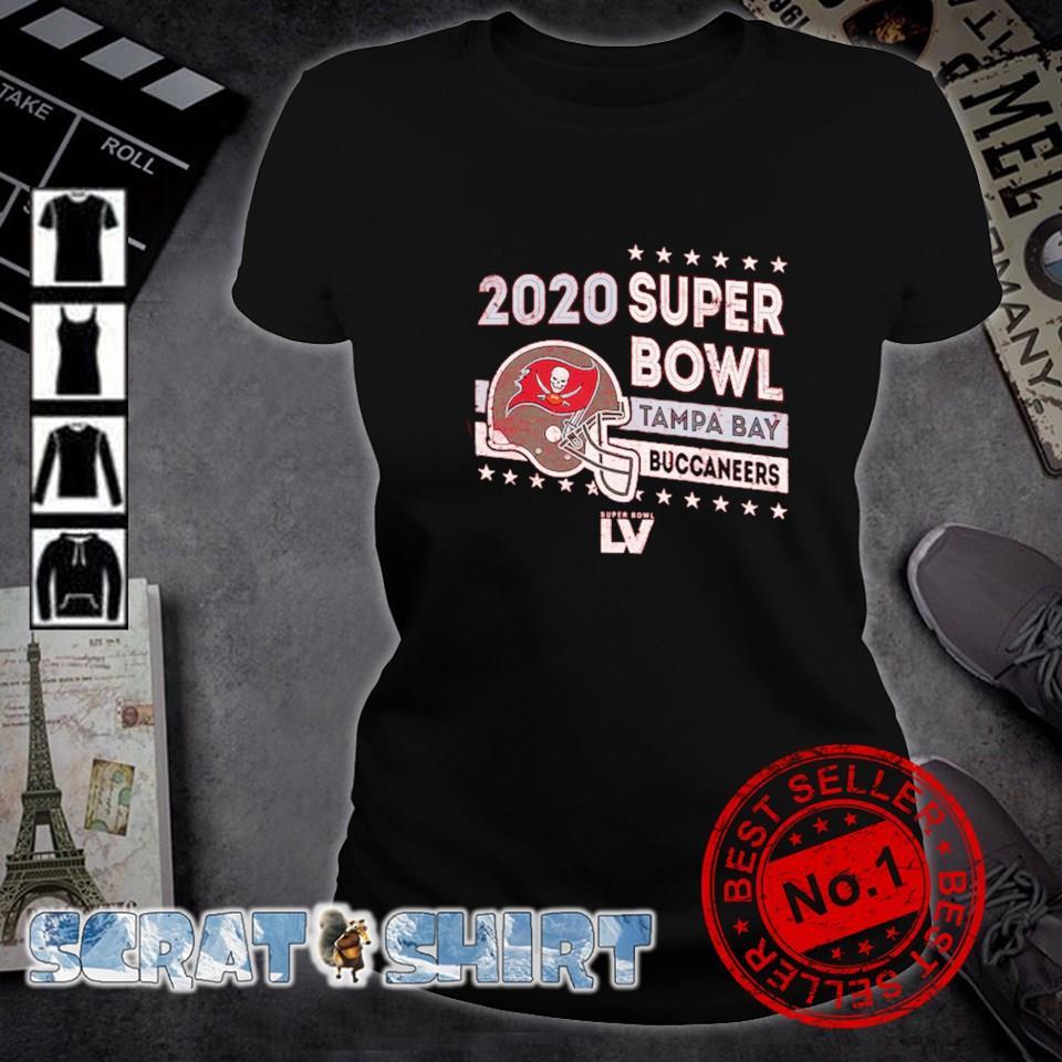 2020 super bowl Tampa Bay Buccaneers champions s ladies-tee