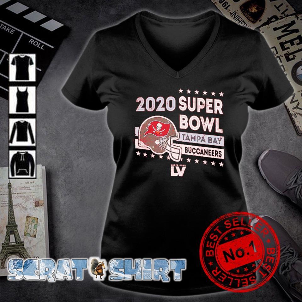 2020 super bowl Tampa Bay Buccaneers champions s v-neck t-shirt