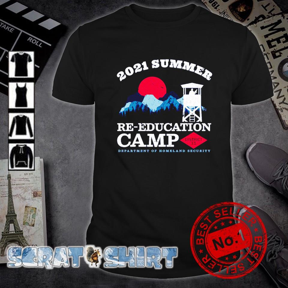 2021 summer re-education department of homeland security shirt
