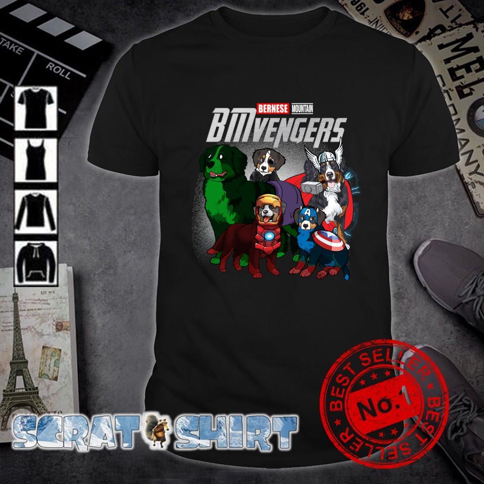 Bernese Mountain Marvel Avengers BMvengers shirt
