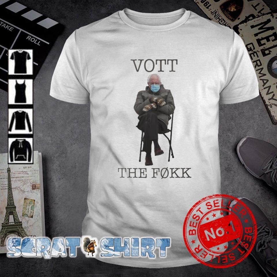 Bernie Sanders vott the fokk shirt