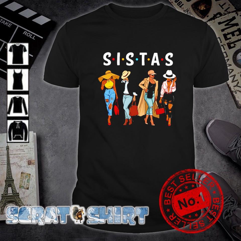 Friends Sistas Afro Women together shirt