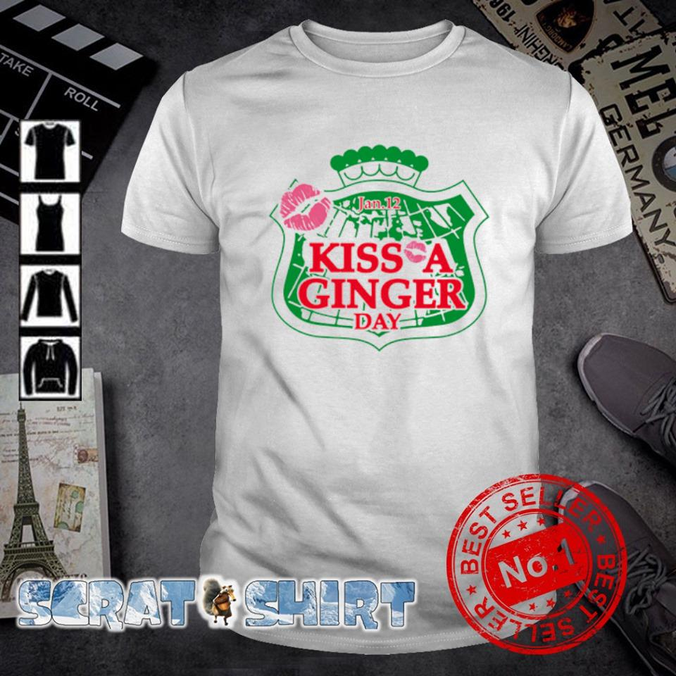 January 12 kiss a ginger day shirt