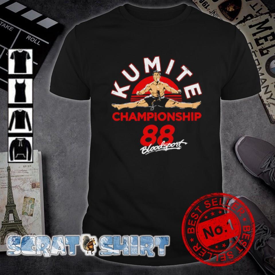 Kumite championship 88 bloodsport shirt