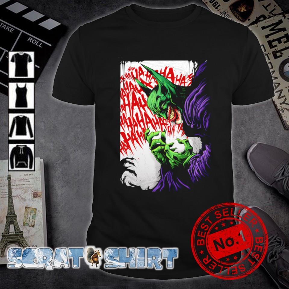 Mashup Joker Venom hahaha shirt
