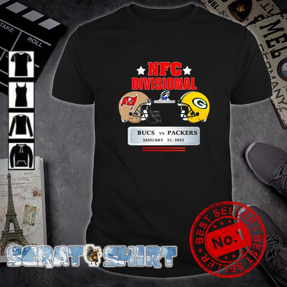 NFC divisional Buccaneers vs Packers January 25 shirt