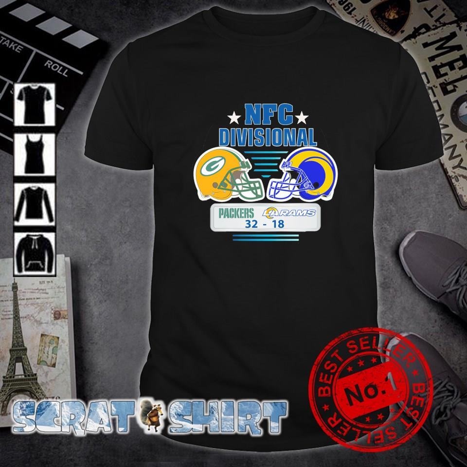 NFL Divisional Packers won in Packers vs. Rams 32 18 shirt