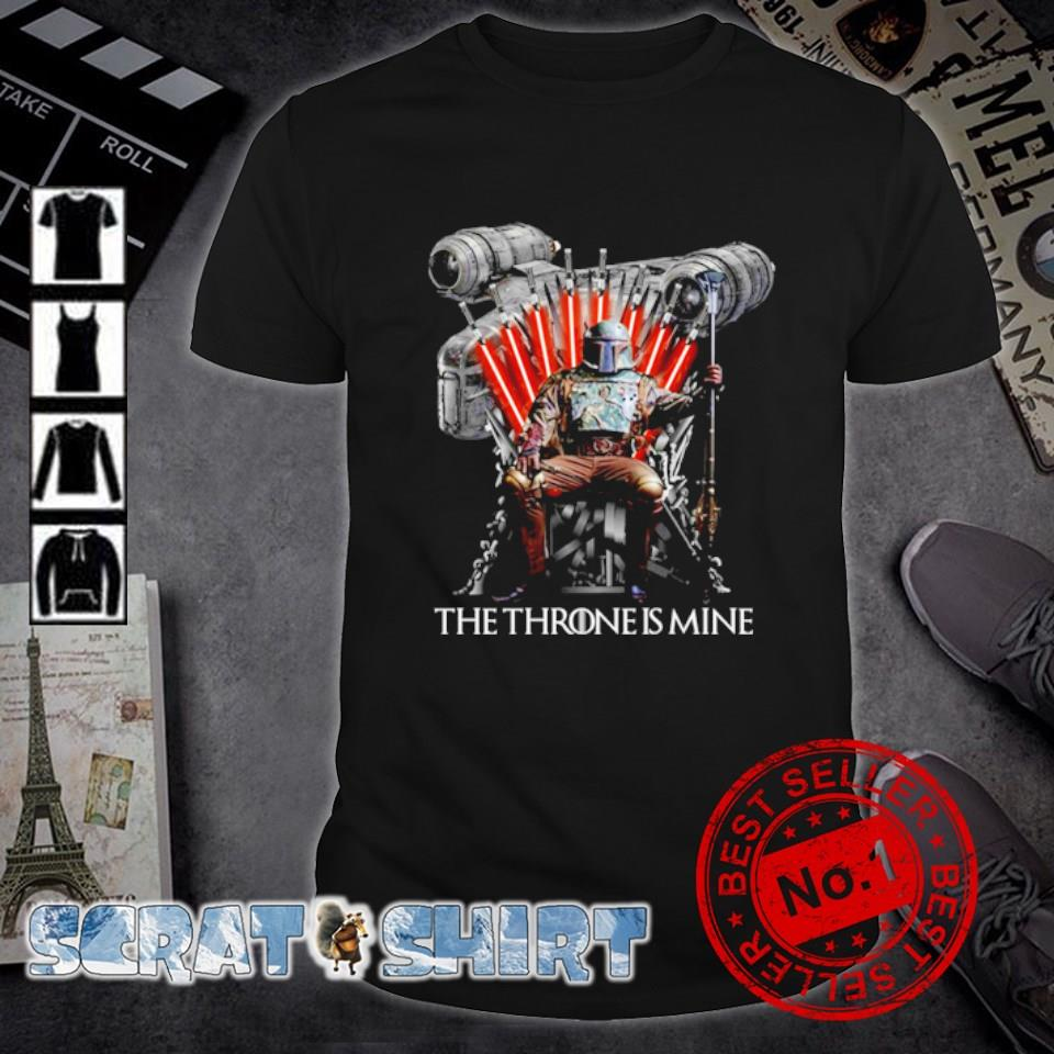 Star Wars Boba Fett The Throne is Mine shirt