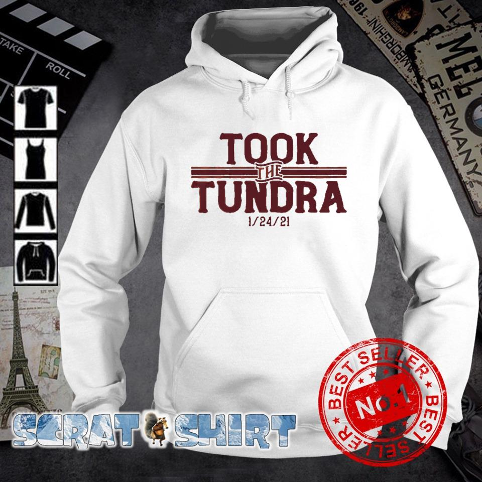 Tampa Bay went to Green Bay and took the tundra s hoodie