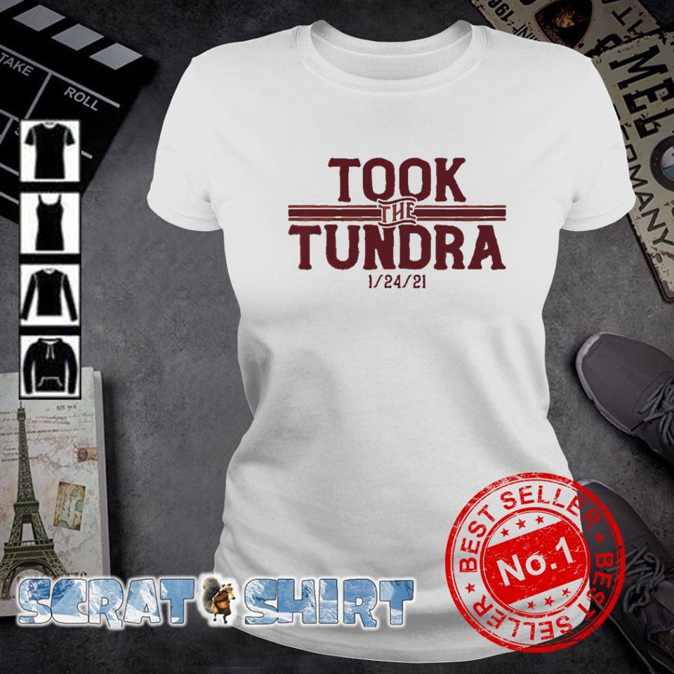 Tampa Bay went to Green Bay and took the tundra s ladies-tee