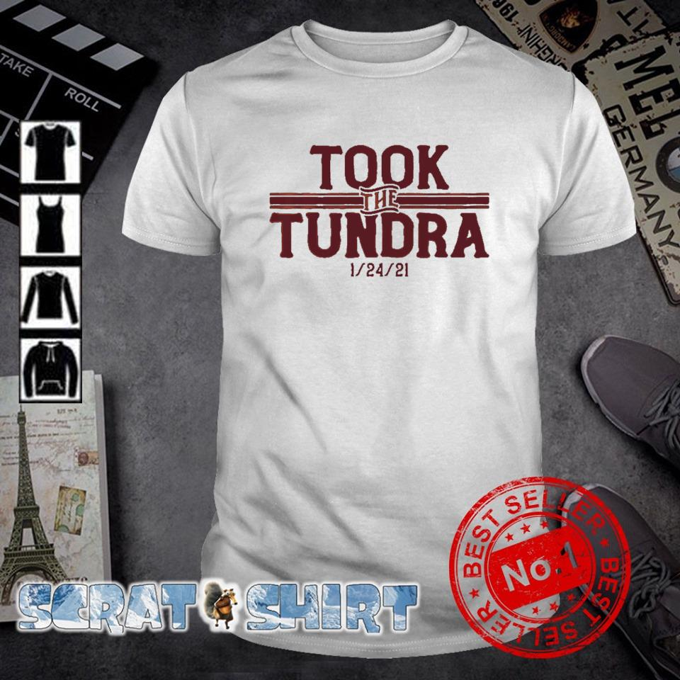 Tampa Bay went to Green Bay and took the tundra shirt