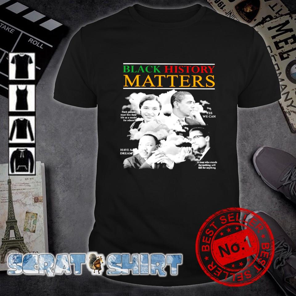 Black history matters shirt