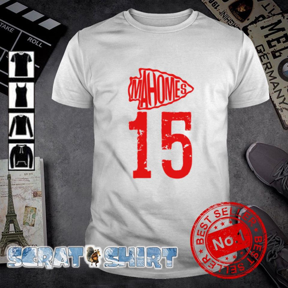 Mahomes 15 Kansas City Chiefs shirt
